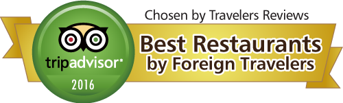 tripadvisor - Best Restaurants by Foreign Travelers -